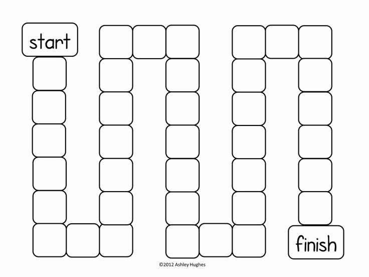 Free Game Board Template Homeschool Resources