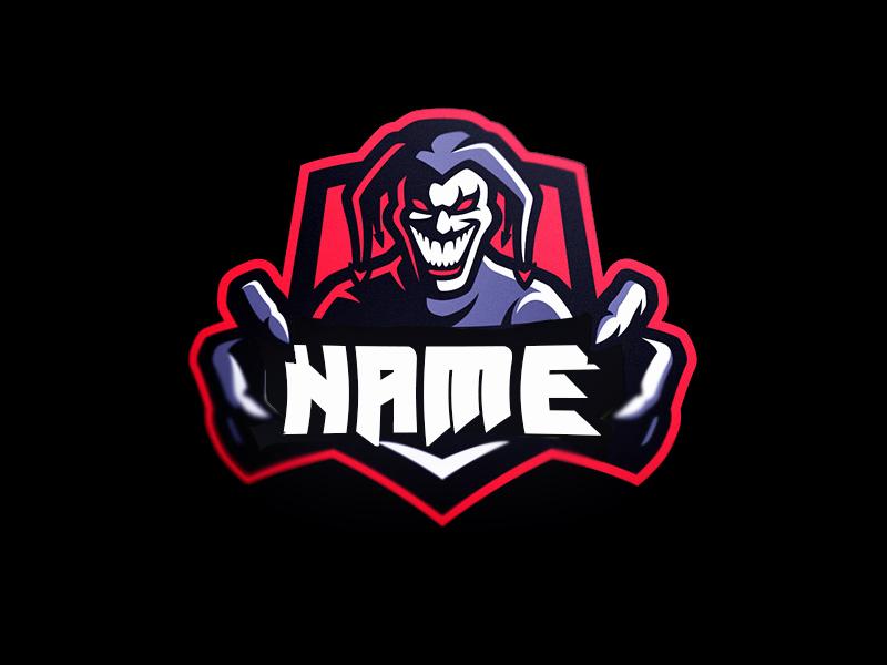 Free Gaming Joker Clan Logo Psd Files