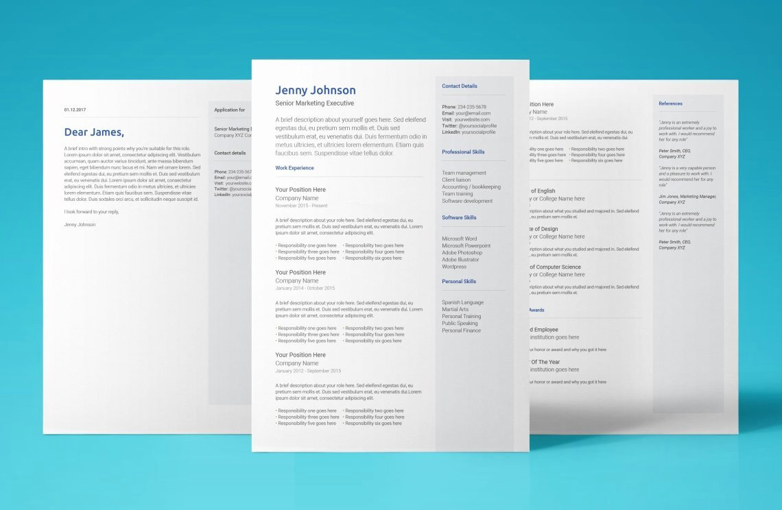 Free Google Docs Resume Template Modern 2018 Design Cv