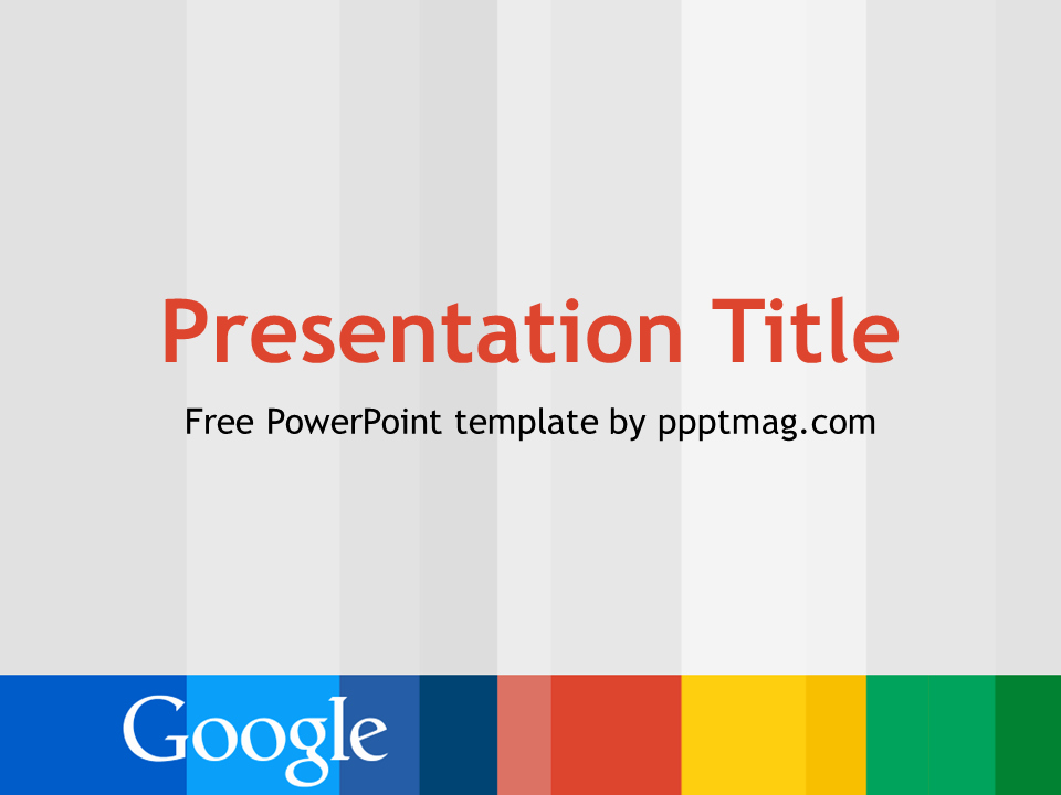 Free Google Powerpoint Template Pptmag
