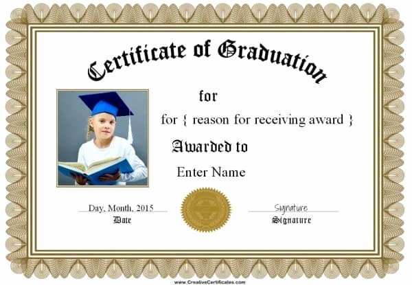 Free Graduation Certificate Templates