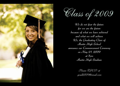 Free Graduation Invitations Template