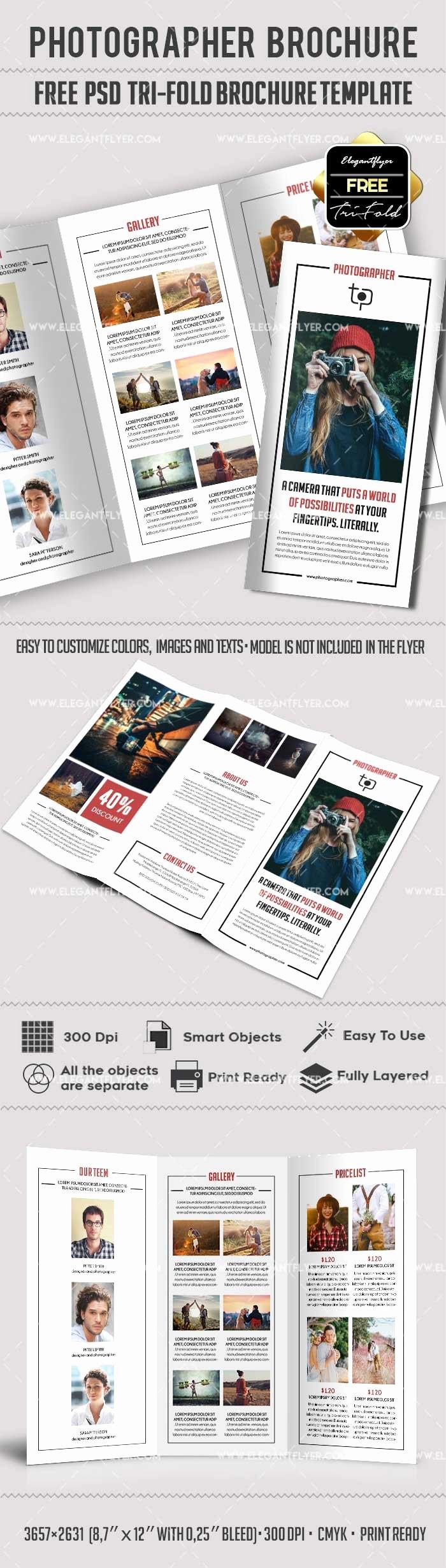 Free Grapher – Free Psd Tri Fold Psd Brochure
