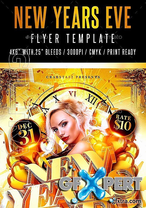 Free Graphicriver New Years Eve Flyer Template