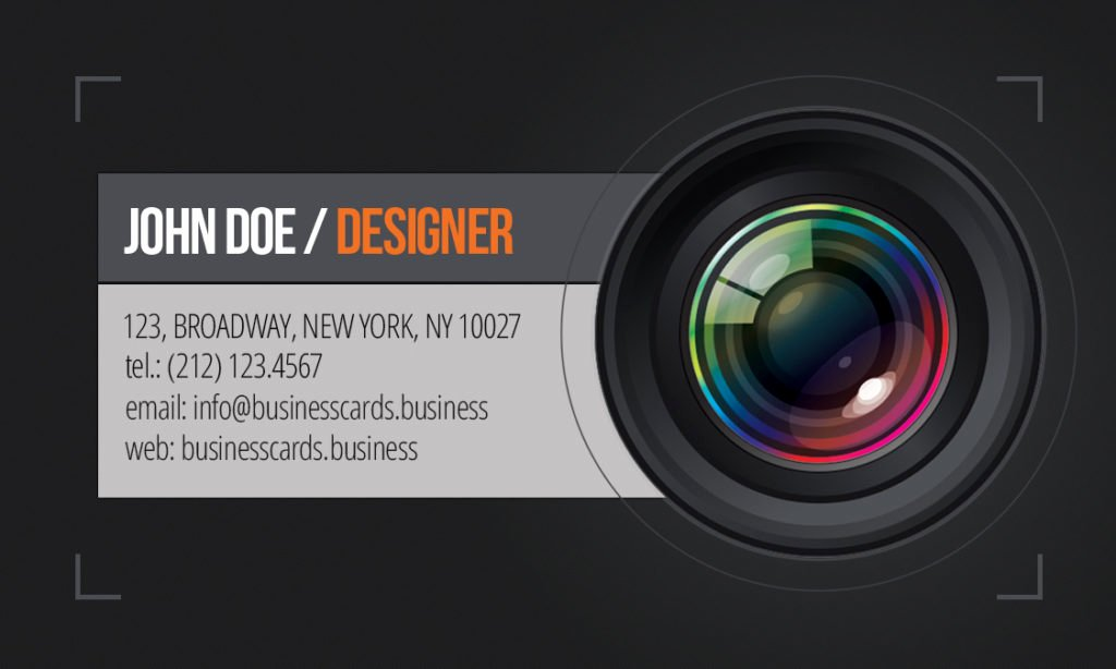 Free Graphy Business Card Template Business Cards