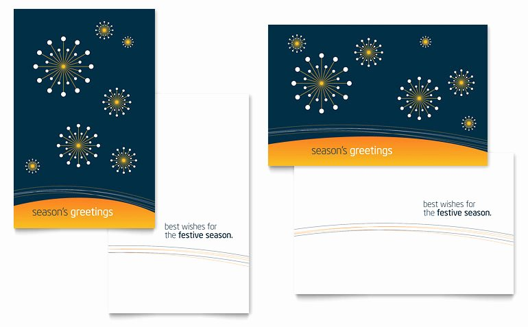 Free Word Greeting Card Templates Download