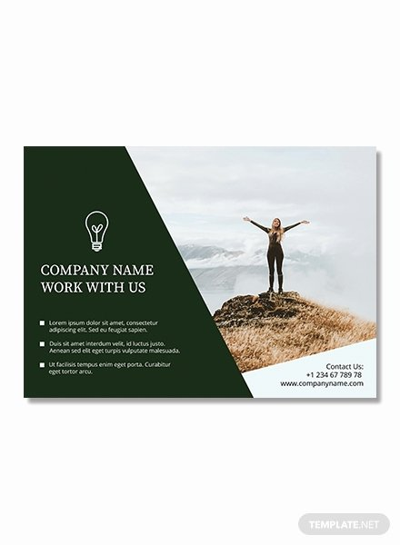 Free Half Page Flyer Template In Adobe Shop