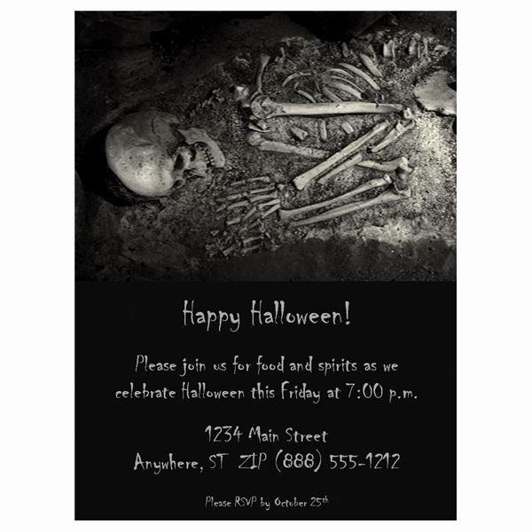 Free Halloween Invitations Template