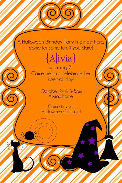 Free Halloween Party Invitation or Template Tips