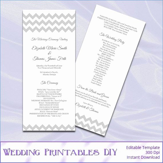 Free Hobby Lobby Wedding Program Templates – Free Template