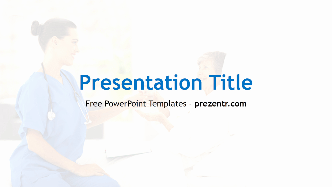 Free Home Health Care Powerpoint Template Prezentr