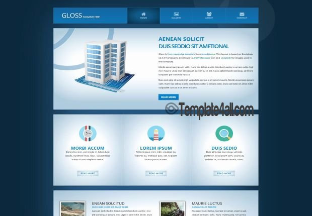 Free HTML Website Templates Page 2