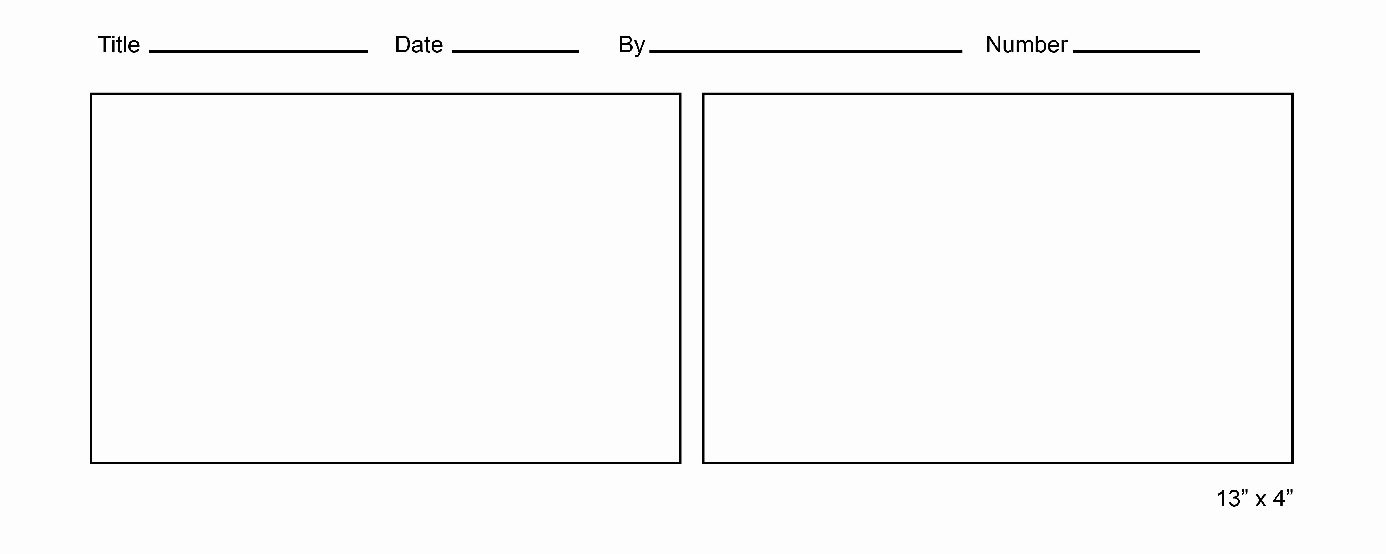 Free Ic Strip Template for Kids