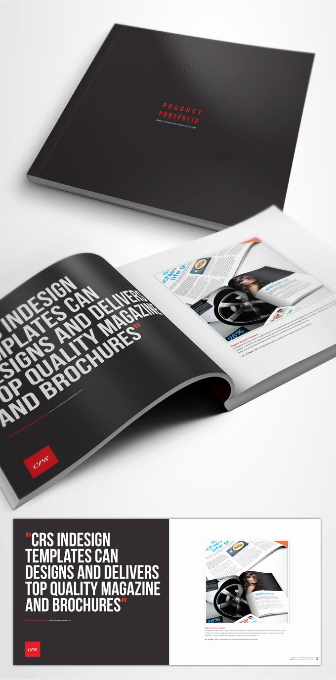 Free Indesign Brochure Template Crs Indesign Templates