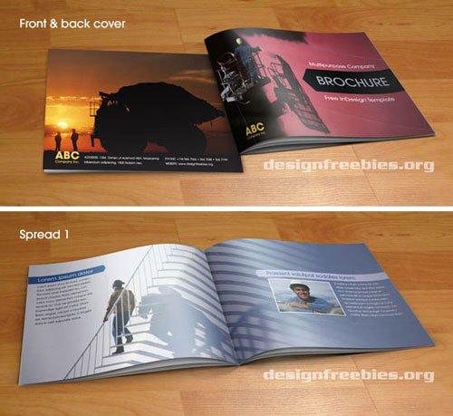Free Indesign Brochure Template Csoforumfo