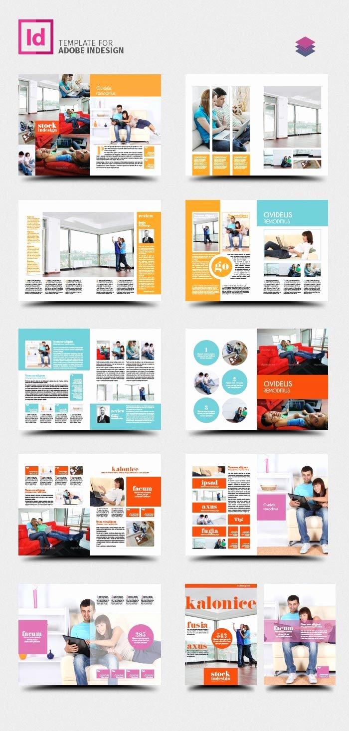 Free Indesign Pro Magazine Template Kalonice