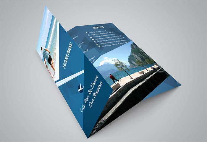 Free Indesign Tri Fold Brochure Template Csoforumfo