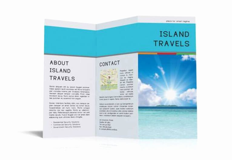 Free Indesign Tri Fold Brochure Template