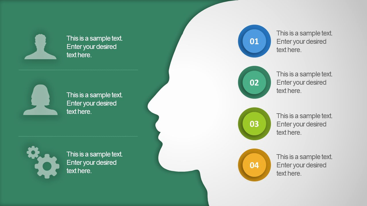 Free Infographic Flat Powerpoint Template Slidemodel