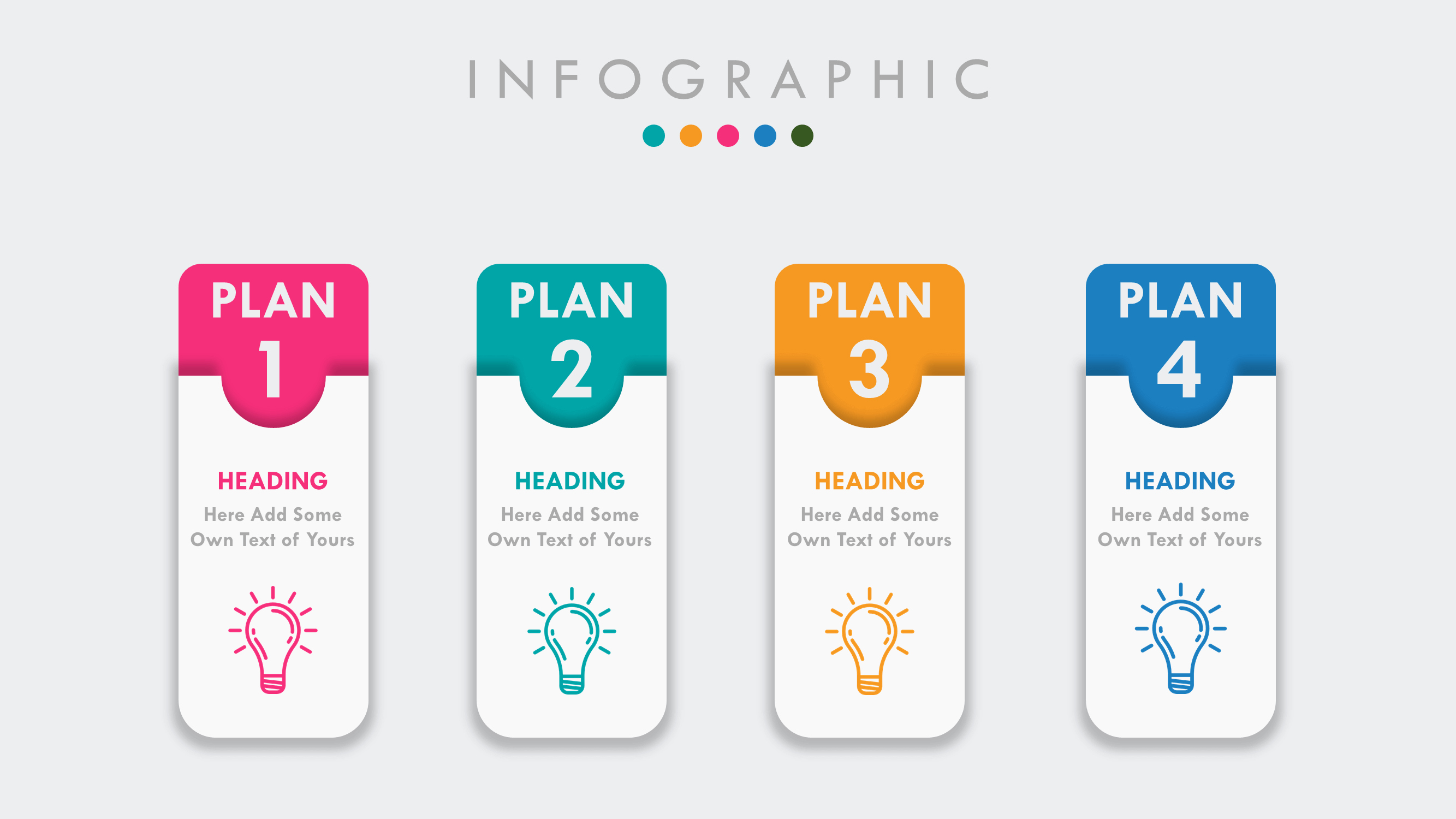 Free Infographic Powerpoint Presentation Template