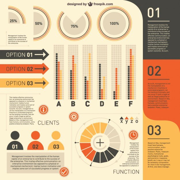 Free Infographic Templates Illustrator Vector
