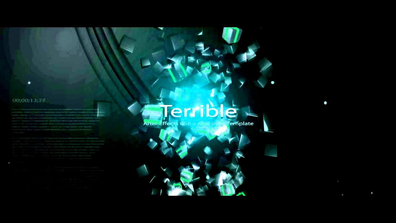 Free Intro Template Adobe after Effects Cs6 Amazing