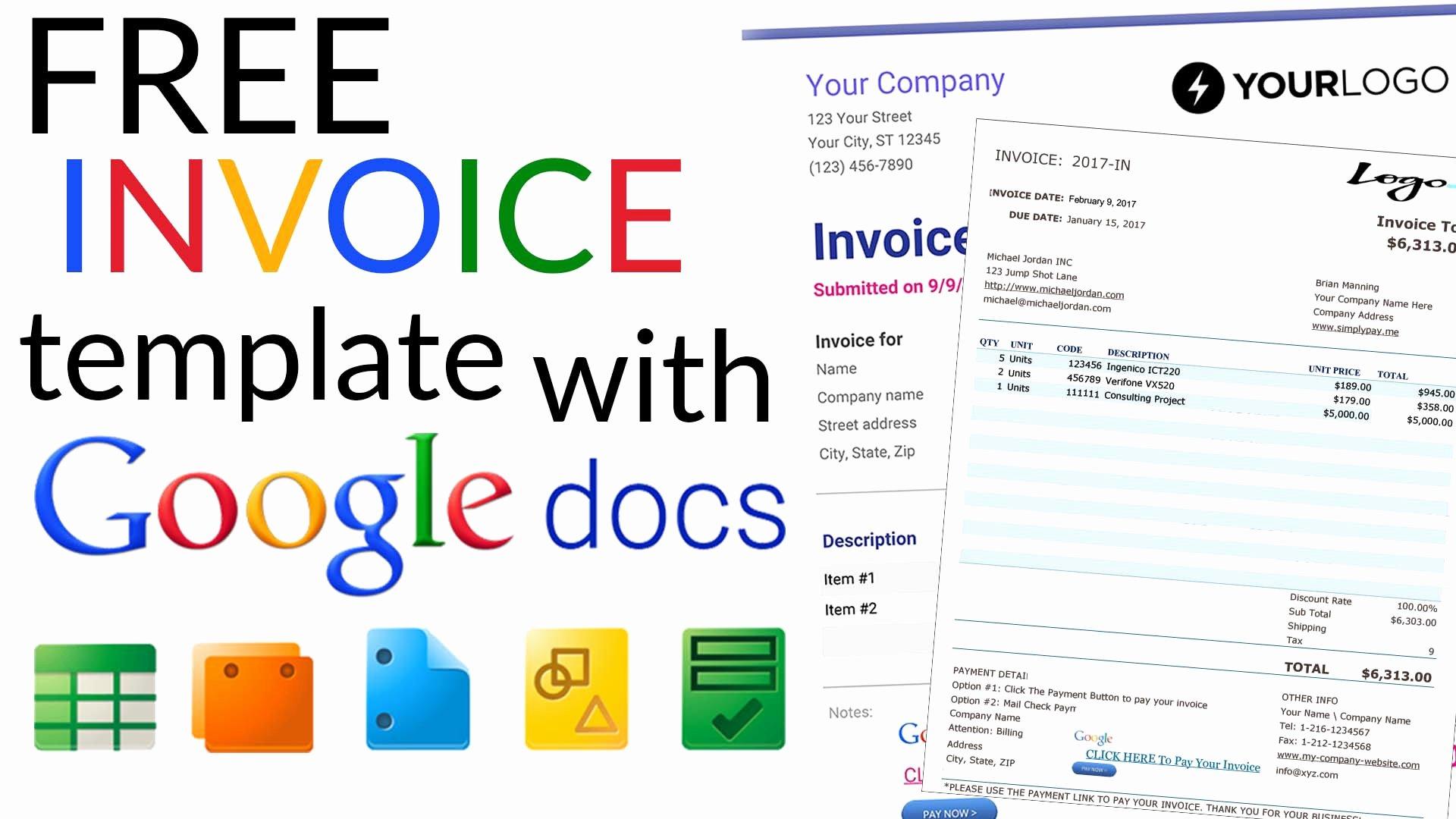 Free Invoice Templates with Google Docs