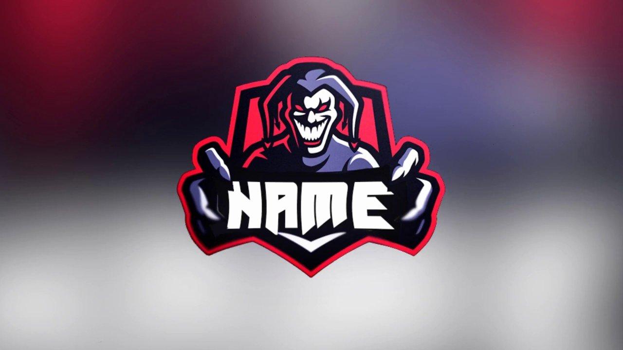 Free Joker Gaming Logo Avatar Template