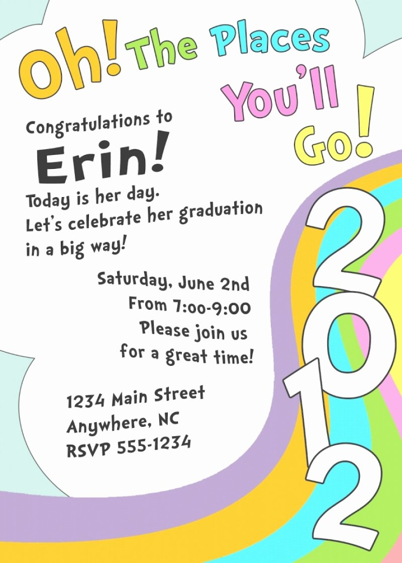 Free Kindergarten Graduation Invitation Template