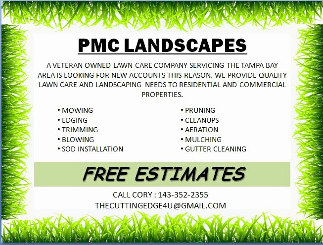 Free Landscaping Flyer Templates to Power Lawn Care