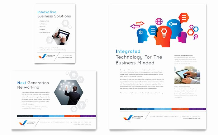 Free Leaflet Templates Download Ready Made Leaflet Designs