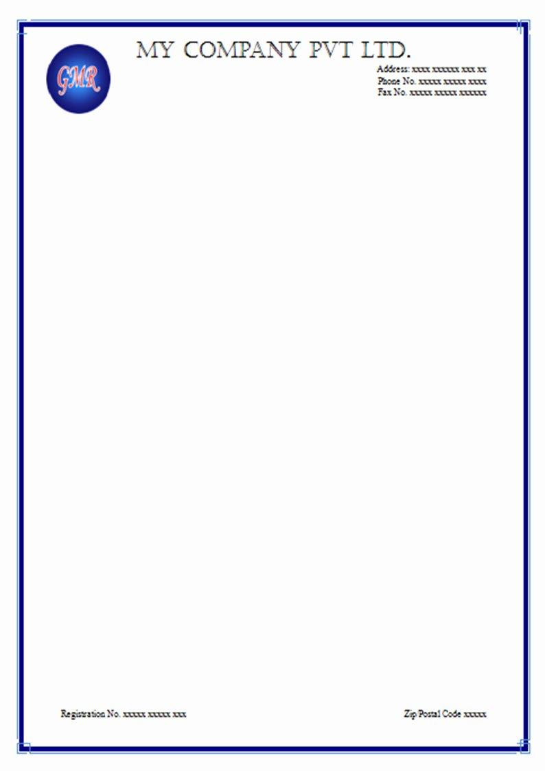 Free Letterhead Sample Templates and Use