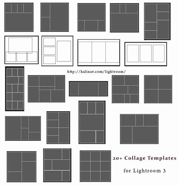 Free Lightroom Collage Templates