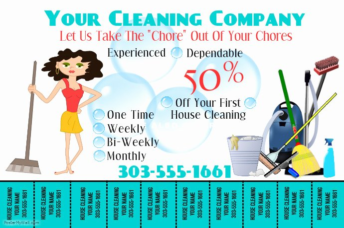 Free Line Carpet Cleaning Flyer Maker
