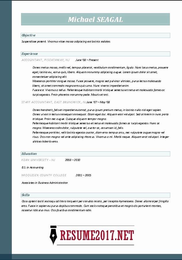 Free Line Resume Builder 2017