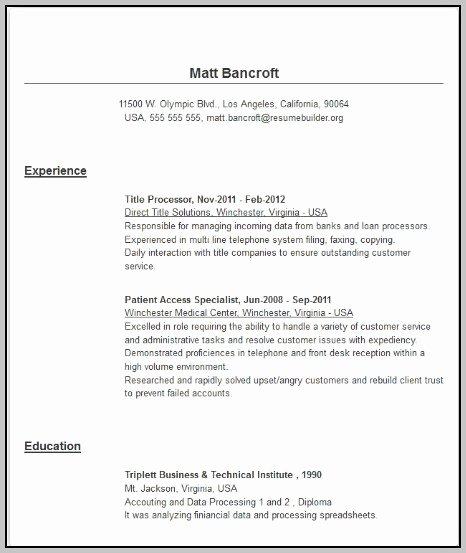 Free Cover Letter Builder | Latter Example Template