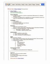 Free Line Resume Creator Luxury Resume for software