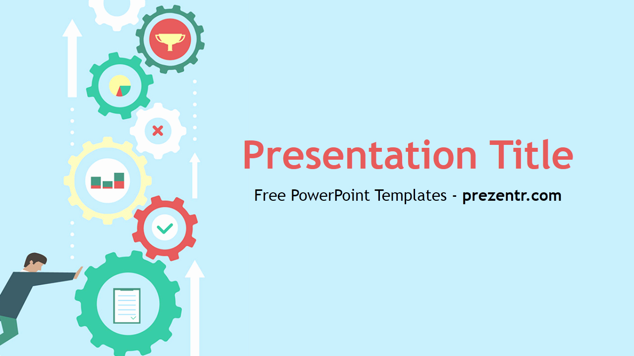 Free Machine Learning Powerpoint Template Prezentr