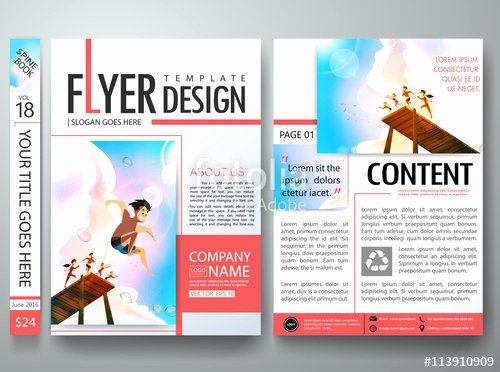 Free Magazine Layout Design Templates
