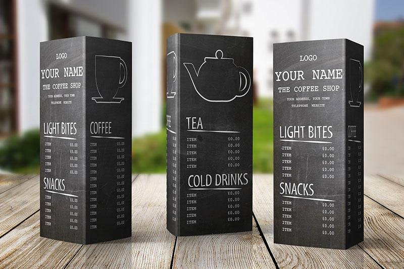 Free Menu Design Template