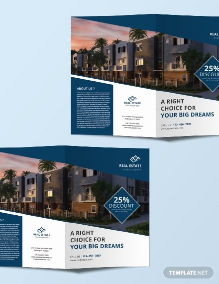 Free Mercial Real Estate Brochure Template Download