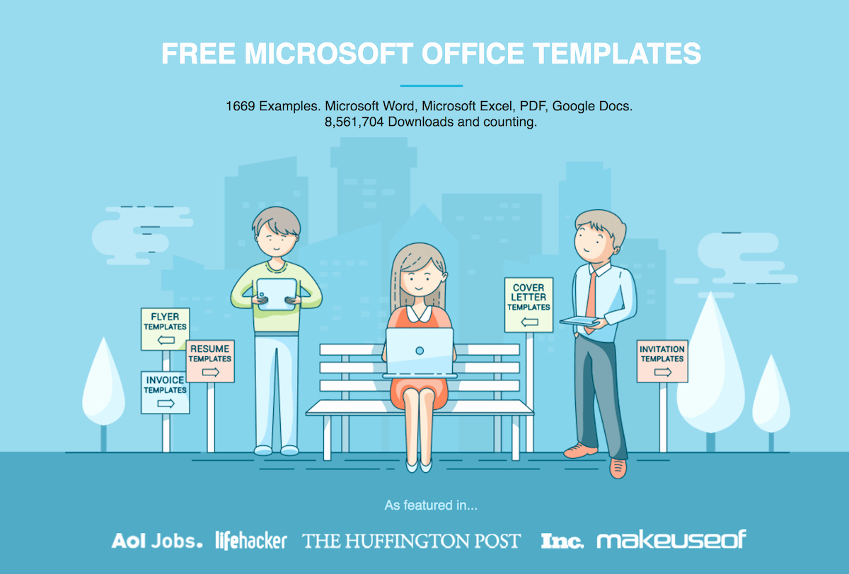 Free Microsoft Fice Templates by Hloom