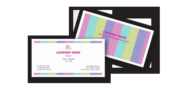Free Microsoft Word Chic Business Card Templates Download