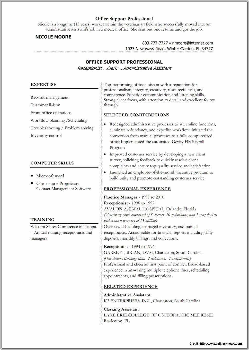 microsoft word resume template 2013