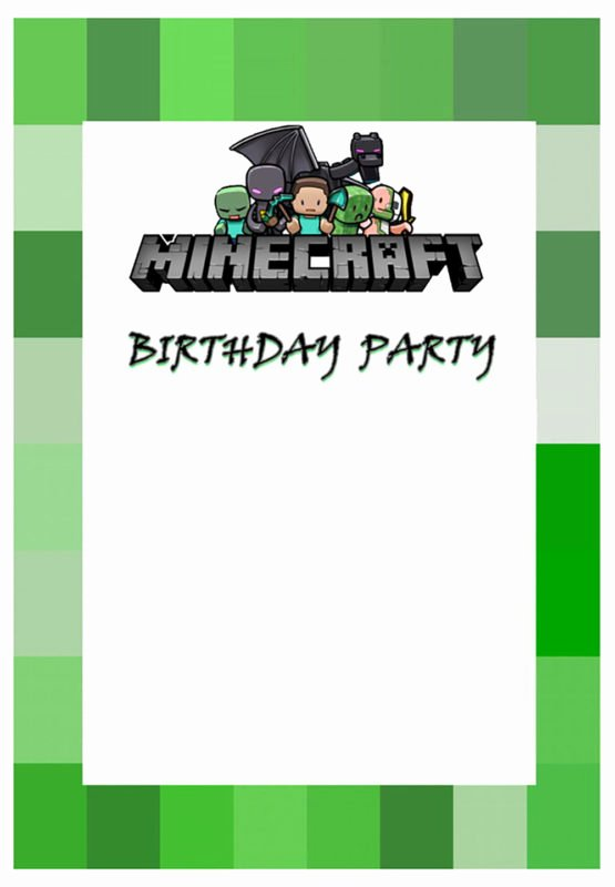 Free Minecraft Invitation