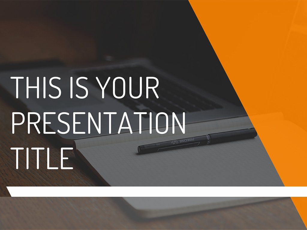 Free Modern and Dynamic Powerpoint Template or Google