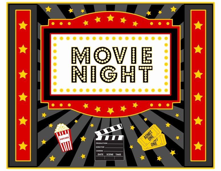 Free Movie Night Party Printables by Printabelle