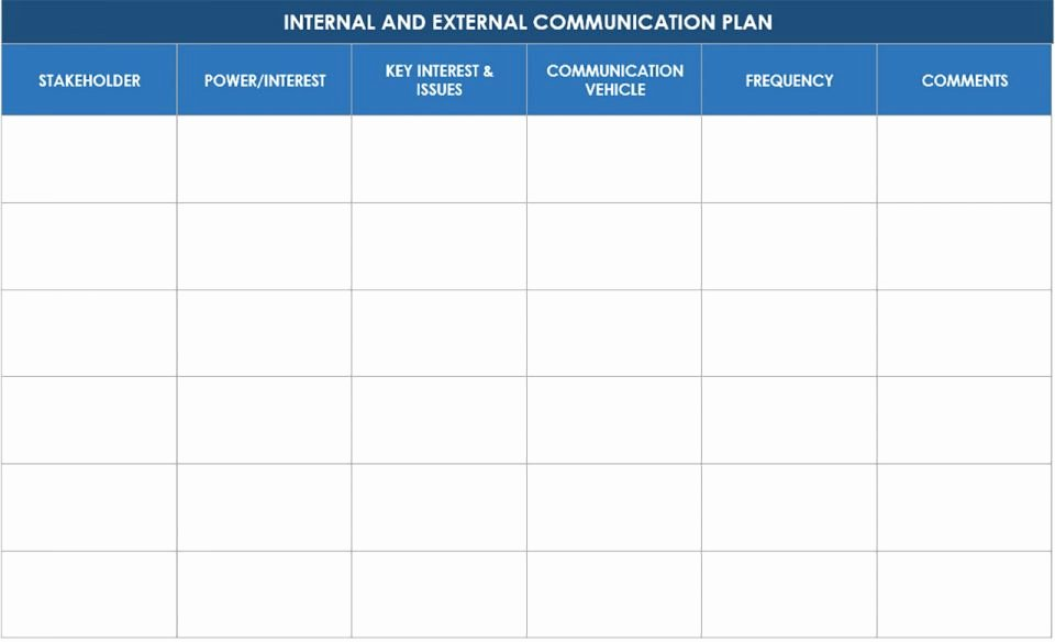 Free Munication Strategy Templates and Samples