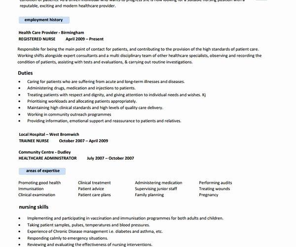 Free Nursing Resume Templates Best Resume Gallery
