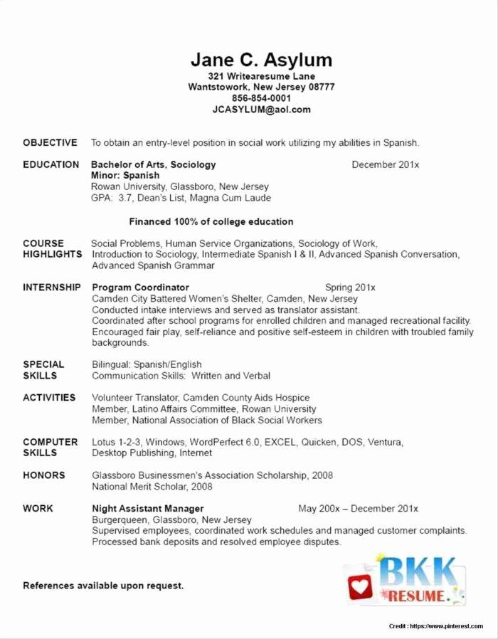 Free Nursing Resume Templates Resume Resume Examples
